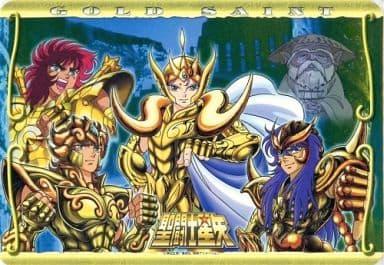 G ムウ&ミロ&アイオリア&童虎 「パッドダス 聖闘士星矢 マウスパッドコレクション」