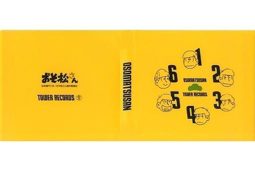 6つ子 CDケース 「おそ松さん×TOWER RECORDS」