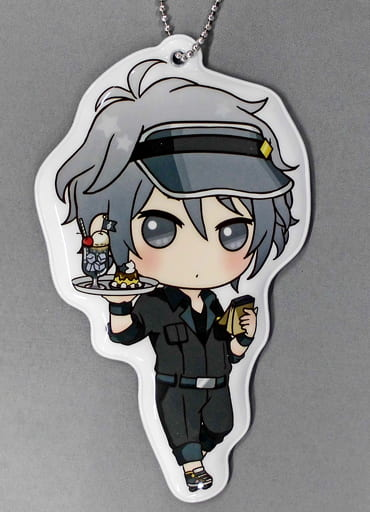 八乙女楽 ダイカットネームタグ 「一番カフェ アイドリッシュセブン Order Please! Part2」 ドリンク注文特典