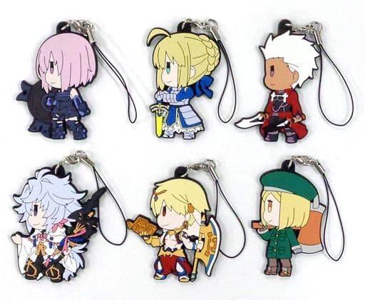 全6種セット 「Fate/Grand Order ぷちサバ! お楽しみラバーストラップ」 C95グッズ