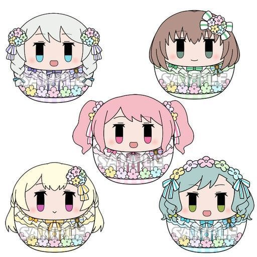 全5種セット 「BanG Dream! ガールズバンドパーティ! コロこっと Pastel*Palette」