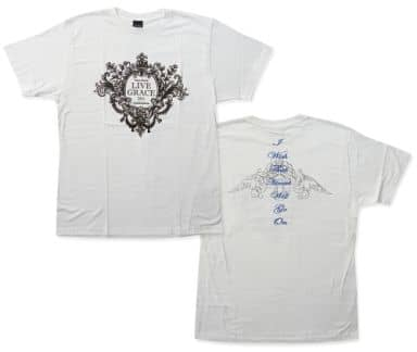 水樹奈々 Tシャツ ホワイト Lサイズ 「NANA MIZUKI LIVE GRACE 2011 -ORCHESTRA-」
