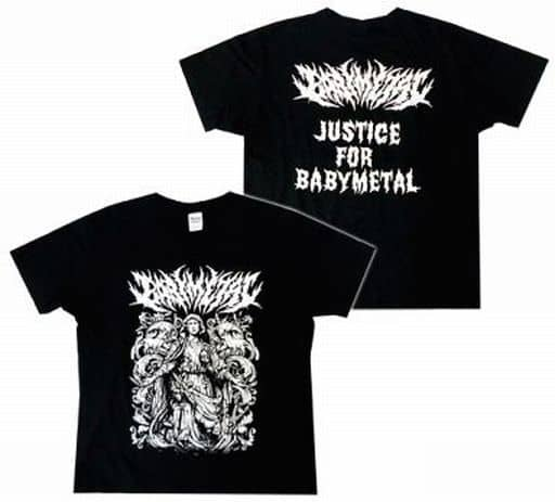 "BABYMETAL マリアTシャツ ブラック Mサイズ 「LEGEND""1997"" SU-METAL聖誕祭」"