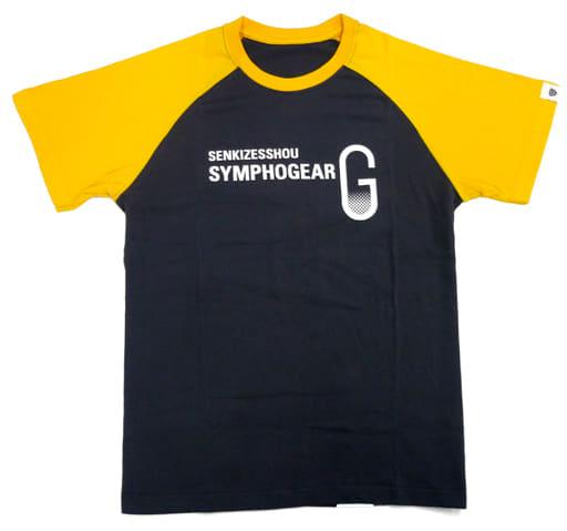 立花響 キャラクターTシャツ ブラック×オレンジ Mサイズ 「戦姫絶唱シンフォギアG」 シンフォギアライブ2013グッズ