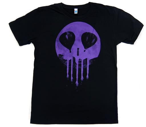 LUNA SEA SKULL MOON Tシャツ(パープル) ブラック XLサイズ 「LUNATIC FEST.」