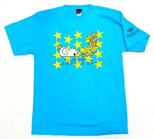 水樹奈々 ナネットさんご当地Tシャツ ライトブルー Lサイズ 「NANA MIZUKI LIVE FEVER 2009」 愛知会場1日目限定