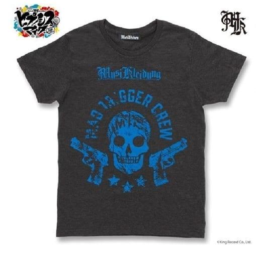 MAD TRIGGER CREW Tシャツ ヘザーブラック Lサイズ 「ヒプノシスマイク -Division Rap Battle-×Musikleidung」
