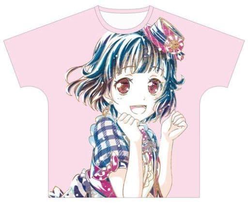 牛込りみ Ani-Art フルグラフィックTシャツ vol.2 ピンク ユニセックスLサイズ 「BanG Dream! ガールズバンドパーティ!」