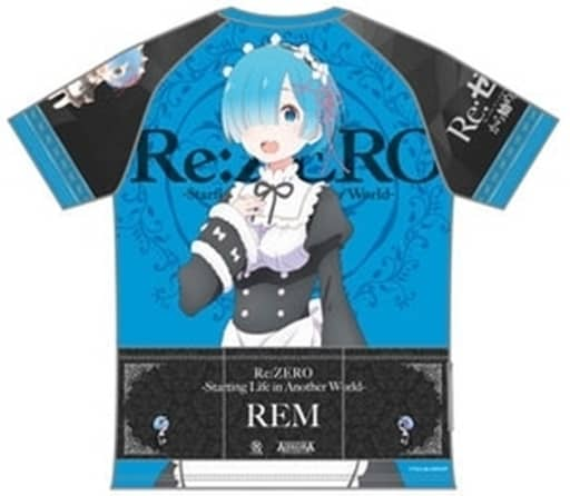 レムver. ツーリングTシャツ ブルー Lサイズ 「Re:ゼロから始める異世界生活」