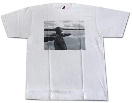 [単品] 衛藤美彩 生誕記念Tシャツ ホワイト Mサイズ 2018年1月度乃木坂46オフィシャルウェブショップ限定