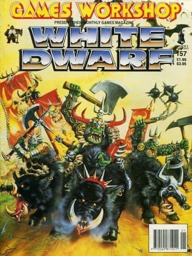 ホワイトドワーフ No.157 1993年1月号 (White Dwarf: 157:January 1993)