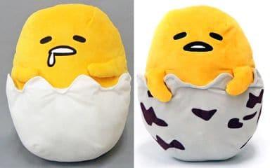 全2種セット ウズラの卵BIGぬいぐるみ 「ぐでたま」