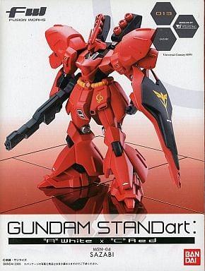 "MSN-04 サザビー 「FW GUNDAM STANDart ""A"" WhiteדC"" Red」"
