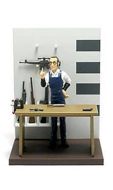 デイブと武器セットB ゴルゴ13 フィギュアコレクション