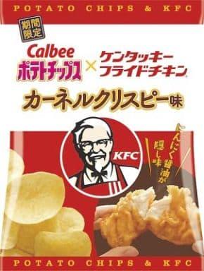 [わけあり品] カルビー ポテトチップス×ケンタッキーフライドチキン カーネルクリスピー味