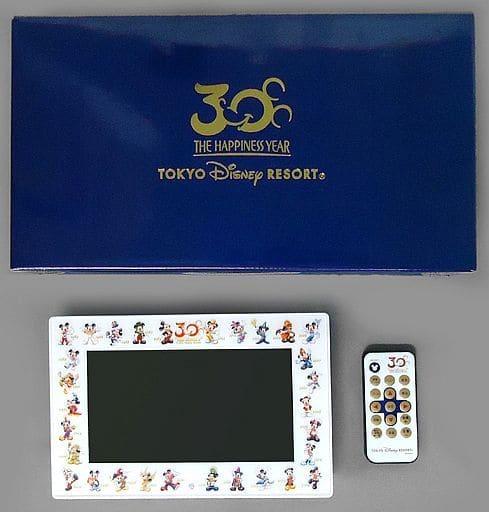 7型 デジタルフォトフレーム 東京ディズニーリゾート30周年記念 ザ・ハピネス・イヤー