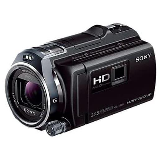 【未使用品】ソニー デジタルHDビデオカメラレコーダー HANDYCAM (ブラック) [HDR-PJ800(B)]