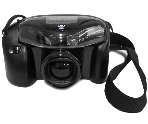 コニカ 35mmフィルムカメラ AIBORG (状態:箱・収納ケース欠品/本体状態難)