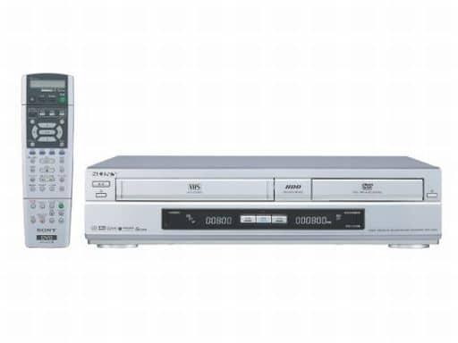 HDD搭載VHSビデオ一体型DVDレコーダー スゴ録 120GB [RDR-VH80] (状態:本体状態難)