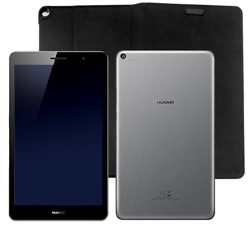 HUAWEI MediaPad T3 16GB Wi-Fi (スペースグレイ/本体ケース付) [KOB-W09]