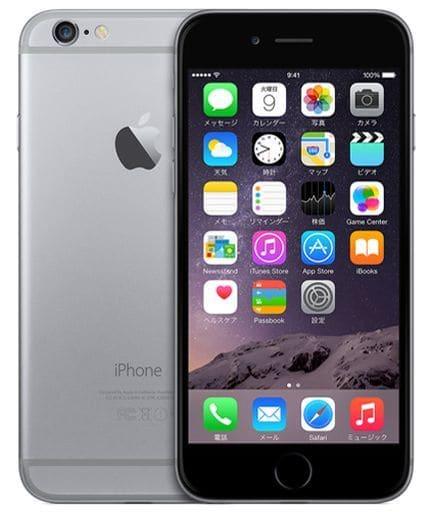 iPhone6 16GB (au/スペースグレイ) [MG472J/A](状態:本体のみ)