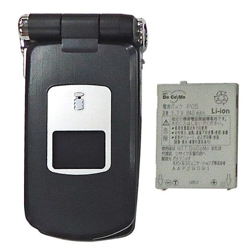 携帯電話 FOMA P900iV (クラウドブラック) [AAP09262] (状態:本体状態難)