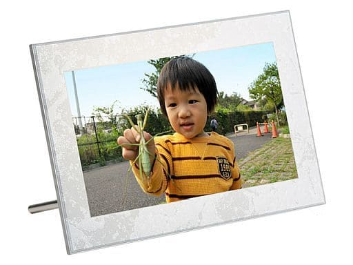 富士フィルム 8.0型 デジタルフォトフレーム (ホワイト) [DP-801SH-W] (状態:箱欠品/本体状態難)