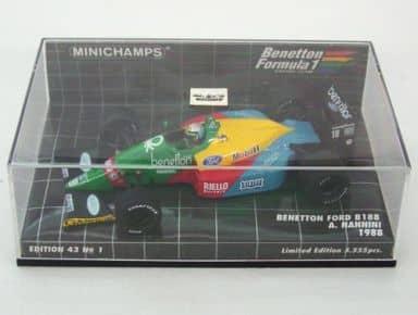 1/43 Benetton Ford B188 1988 Mobil1 #19(グリーン×イエロー×レッド×ブルー) [400880019]