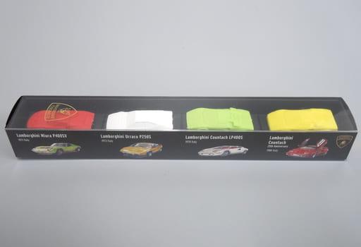1/100 ランボルギーニ 4台セット A 「超精密スーパーカー消しゴム」 [GGF0101A]