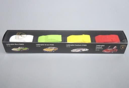 1/100 ランボルギーニ 4台セット B 「超精密スーパーカー消しゴム」 [GGF0101B]