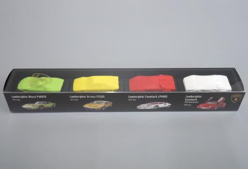 1/100 ランボルギーニ 4台セット C 「超精密スーパーカー消しゴム」 [GGF0101B]