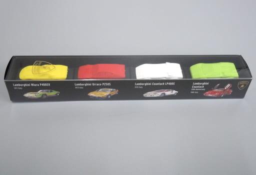 1/100 ランボルギーニ 4台セット D 「超精密スーパーカー消しゴム」 [GGF0101D]