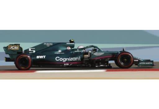 1/43 Aston Martin AMR21 #5 Aston Martin Cognizant F1 Team Bahrain GP 2021 Sebastian Vettel [S7672]