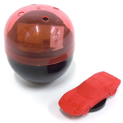 1/100 ランボルギーニ・ミウラ カプセル(レッド) 「超精密スーパーカー消しゴム」 [ELCMR001]
