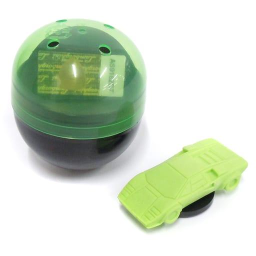 1/100 ランボルギーニ・カウンタック LP400S カプセル(グリーン) 「超精密スーパーカー消しゴム」 [ELCLG001]