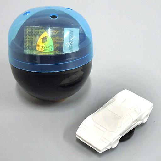 1/100 ランボルギーニ・カウンタック 25thアニバーサリー カプセル(ホワイト) 「超精密スーパーカー消しゴム」 [ELCAW001]