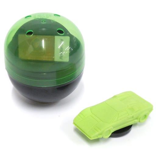 1/100 ランボルギーニ・カウンタック 25thアニバーサリー カプセル(グリーン) 「超精密スーパーカー消しゴム」 [ELCAG001]