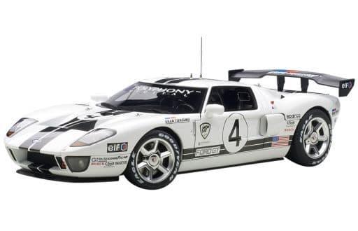 [箱破損] 1/18 Ford GT LM Race Car Spec II GRAN TURISMO #4(ホワイト) 「MILLENNIUM」 [80515]