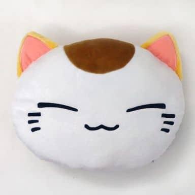ねむネコ フェイス座布団 「ねむネコ」