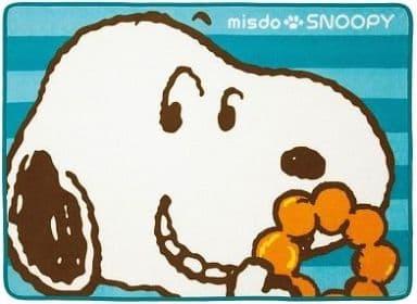 [単品]スヌーピー ふわふわブランケット(ブルー) 「ミスタードーナツ×スヌーピー ミスド福袋2014 2100円福袋」