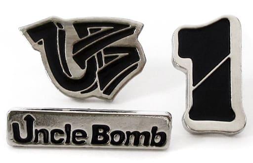 Uncle Bomb ピンバッジセット(3個セット) 「Kiramune Presents Uncle Bomb 1st EVENT 1チャンネル」