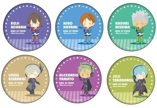 全6種セット 「KING OF PRISM -Shiny Seven Stars- 缶バッジ 27.ぽすてる」