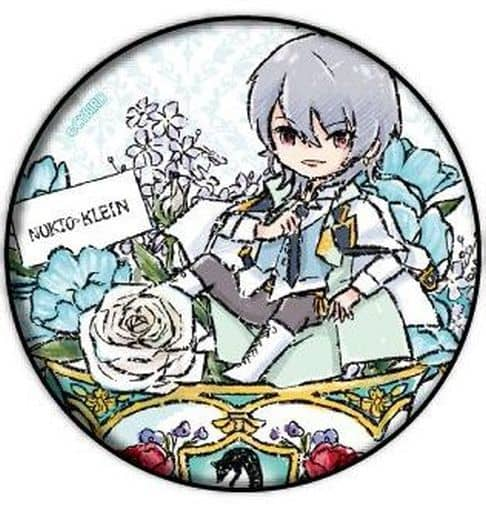 ノクト=クライン 「イケメン王子 美女と野獣の最後の恋 缶バッジ 01.花ver. グラフアートデザイン」