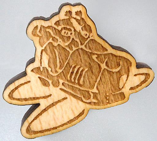 フラップター 木製ブローチ 「天空の城ラピュタ」 アニメージュとジブリ展~一冊の雑誌からジブリは始まった~グッズ