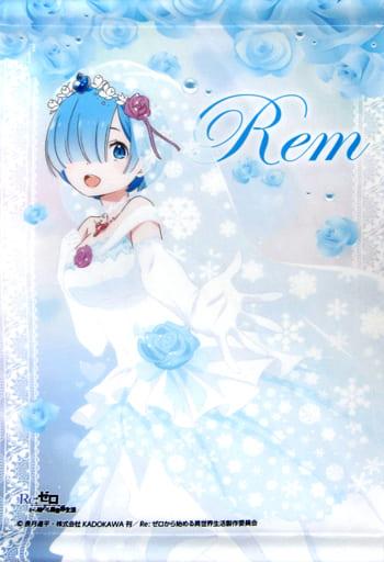 レム(ウエディングver.) オリジナルタペストリー 「Re:ゼロから始める異世界生活 ウインターキャンペーン」