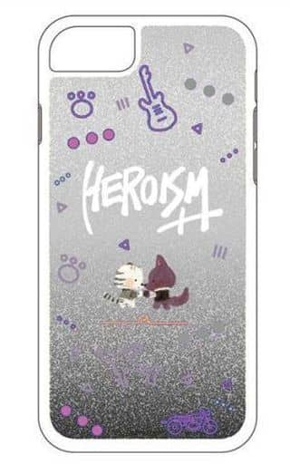 HEROISM++ iPhone8/7/6/6s専用 グリッターiPhoneケース 「スタミュ」