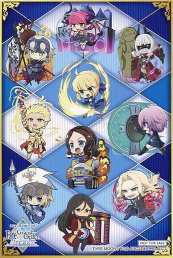 集合(SD) オリジナルポストカード 「セガコラボカフェ Fate/Grand Order Arcade 第2弾」 プレゼントキャンペーン