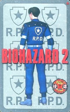 【単品】 レオン・S・ケネディ「BIOHAZARD2」 新ファミ通一族の陰謀 全プレ/プラチナ