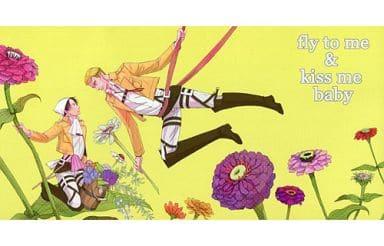 【進撃の巨人】大判ポストカード リヴァイ&エルヴィン・スミス(土星) SUPER COMIC CITY23/Stamp&Goya