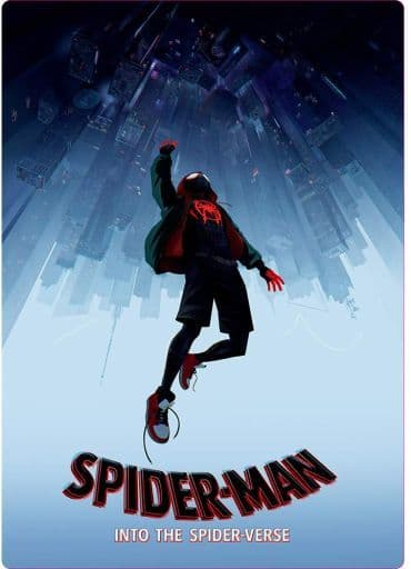 A.スパイダーマン(マイルス・モラレス) B5下敷き 「スパイダーマン:スパイダーバース」